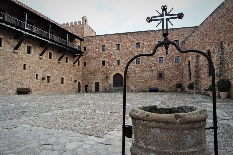 Patio del castillo, qué ver en Sigüenza