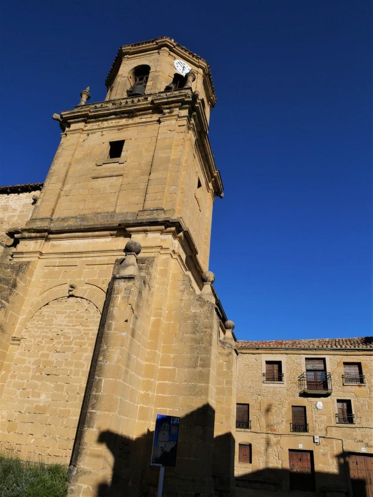 Torre de la iglesia de Sajazarra