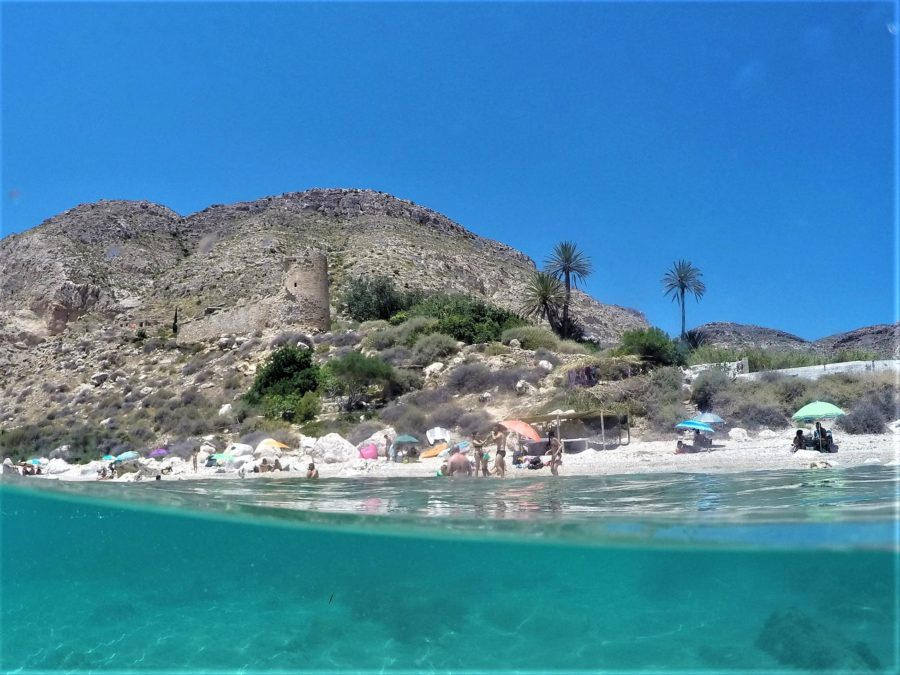 Cala de San Pedro, qué ver en Cabo de Gata, Alméria