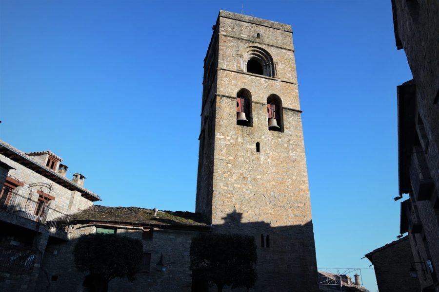 Iglesia de Santa María, qué ver en Aínsa, Huesca