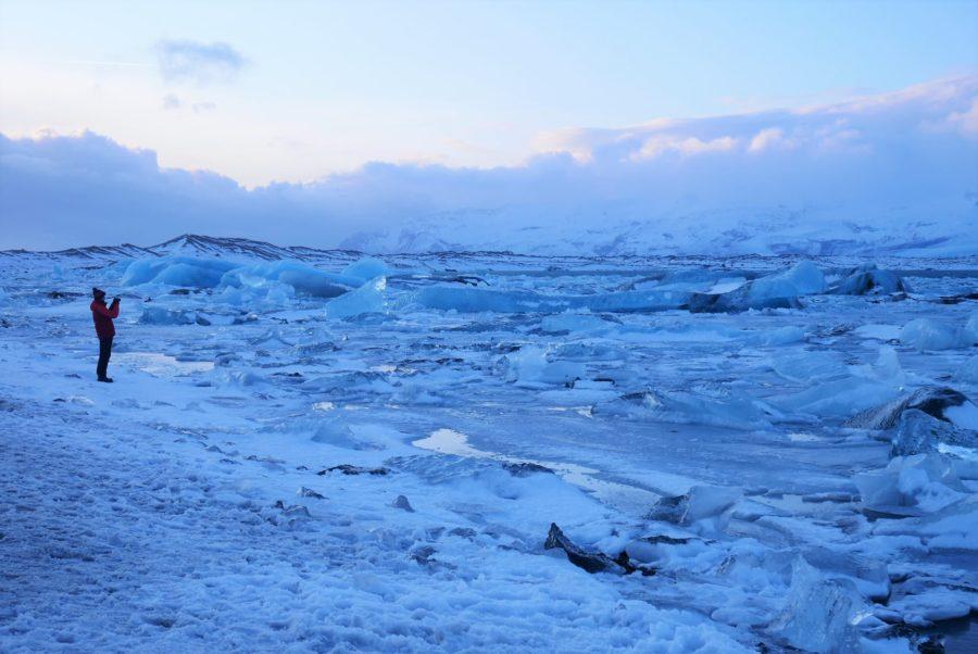 Jökulsárlón, seguro para viajar a Islandia