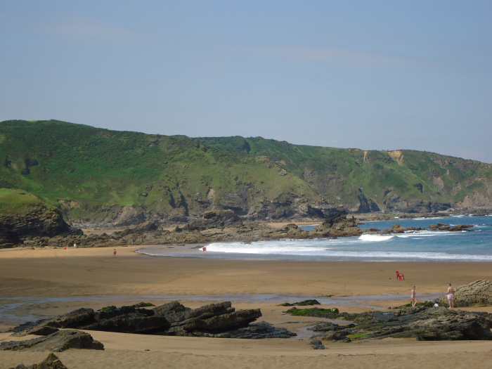 La playa de Verdicio