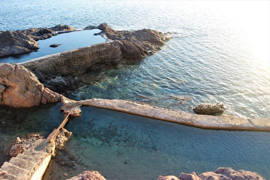 Las esclusas de las Salinas de Cabo de Gata