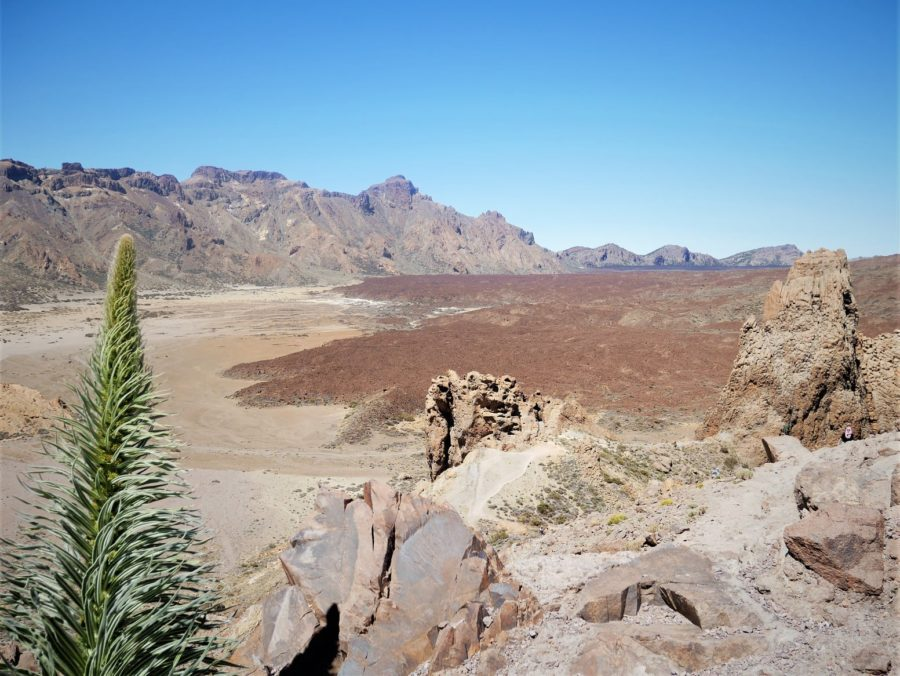 Paisaje volcánico del Teide