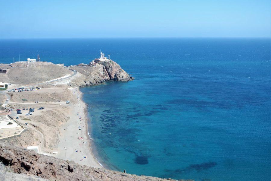 Playa del Corralete, Cabo de Gata