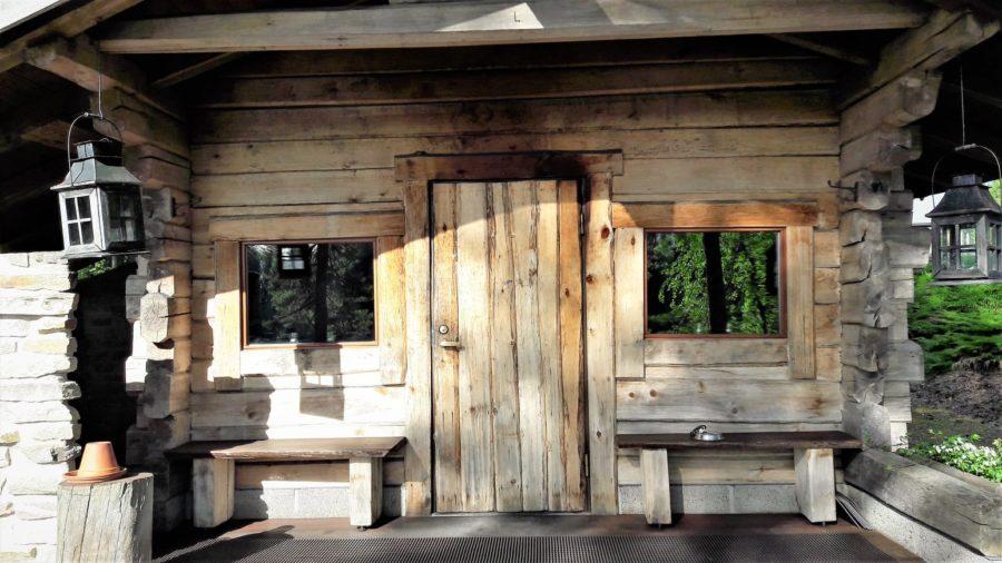 Sauna tradicional de humo en Finlandia