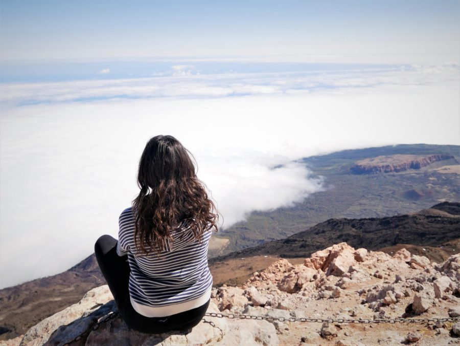 Vistas desde la cima del Teide, Tenerife