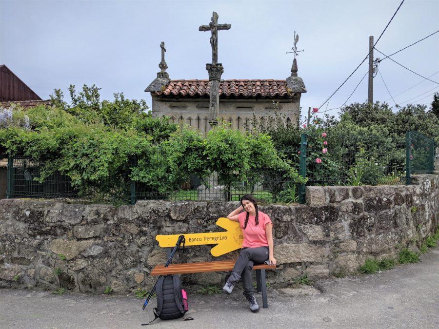 Banco Peregrino, Camino a Santiago