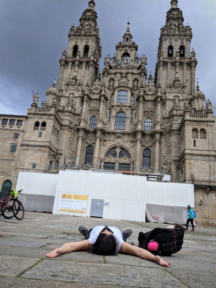 El fin del Camino a Santiago