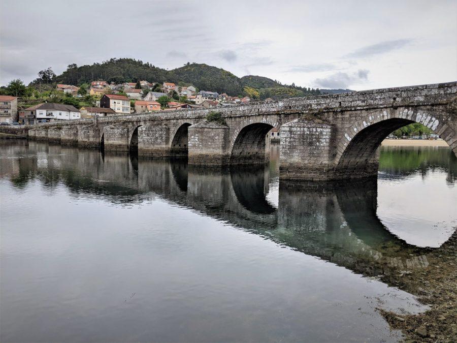 Ría de Vigo, Camino Portugués a Santiago