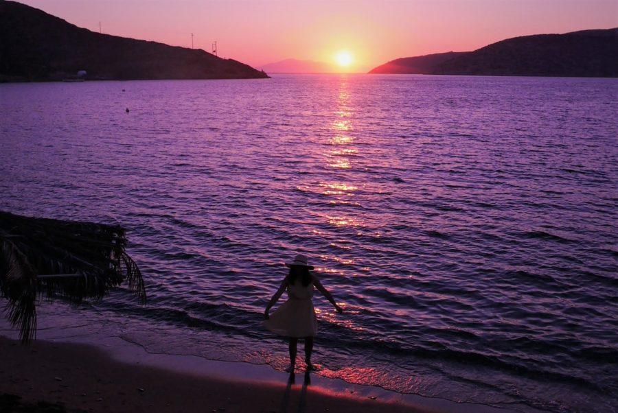 Atardecer en las islas Griegas