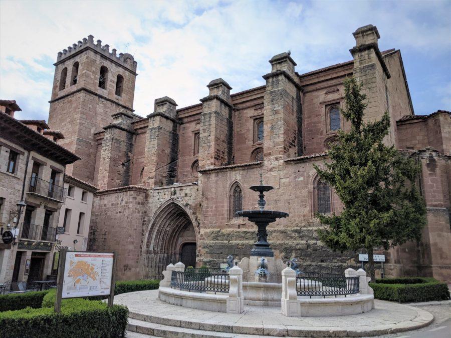 Excolegiata de Santa María, qué ver en Mora de Rubielos, Teruel