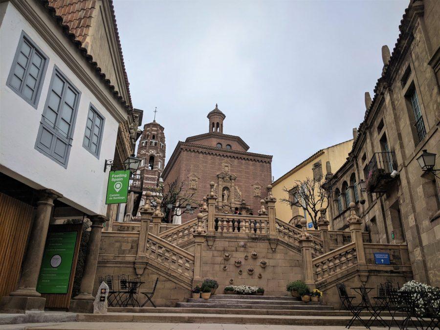Galicia en el Poble Espanyol