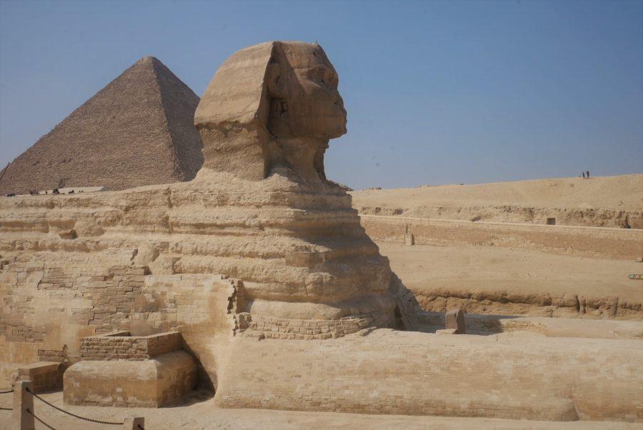 La Esfinge de Kefrén, Egipto