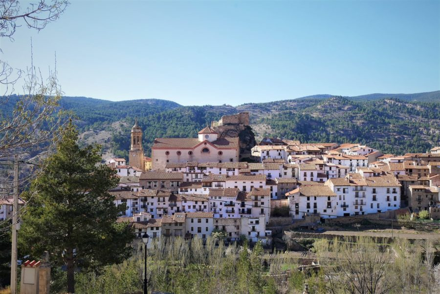Panorámica de Linares de Mora, Teruel