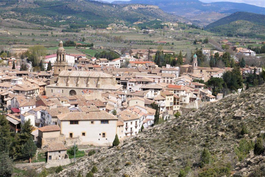 Vistas de Rubielos de Mora, Teruel