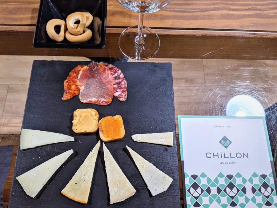 Cata de quesos en la Quesería Chillón