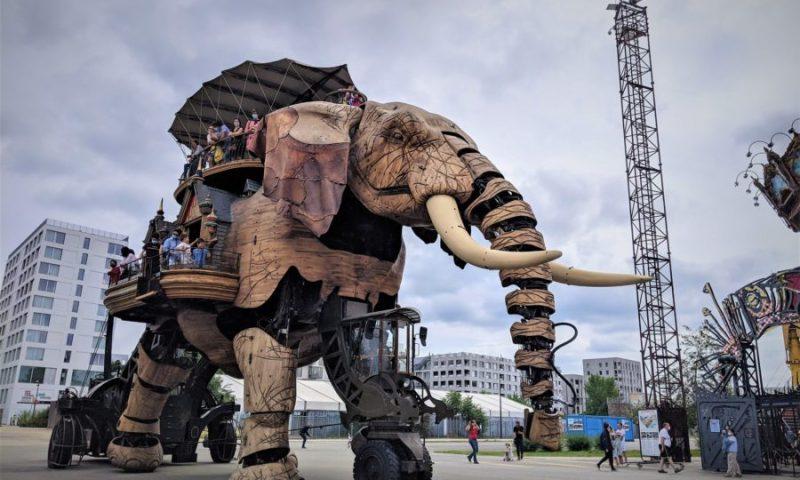 El Gran Elefante, máquinas de la isla, El Viaje a Nantes