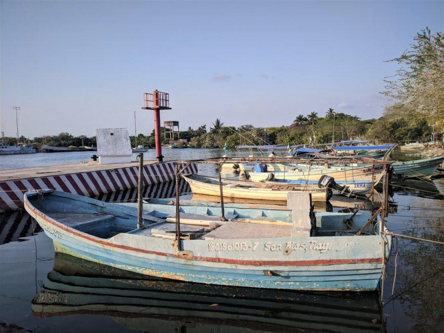 El muelle de San Blas, Nayarit
