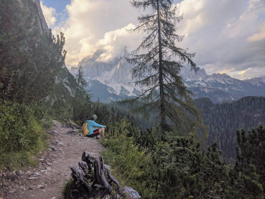 Rutas de senderismo en Dolomitas, trekking al lago di Sorapiss
