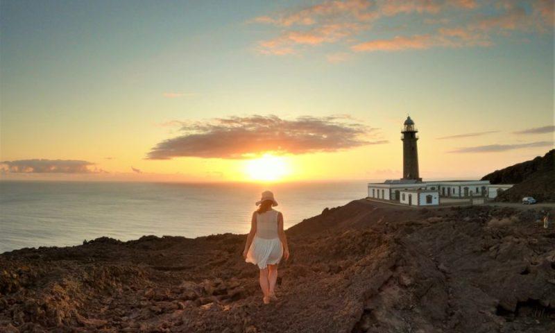Atardecer en el Faro de Orchilla, qué ver en El Hierro en 3 días