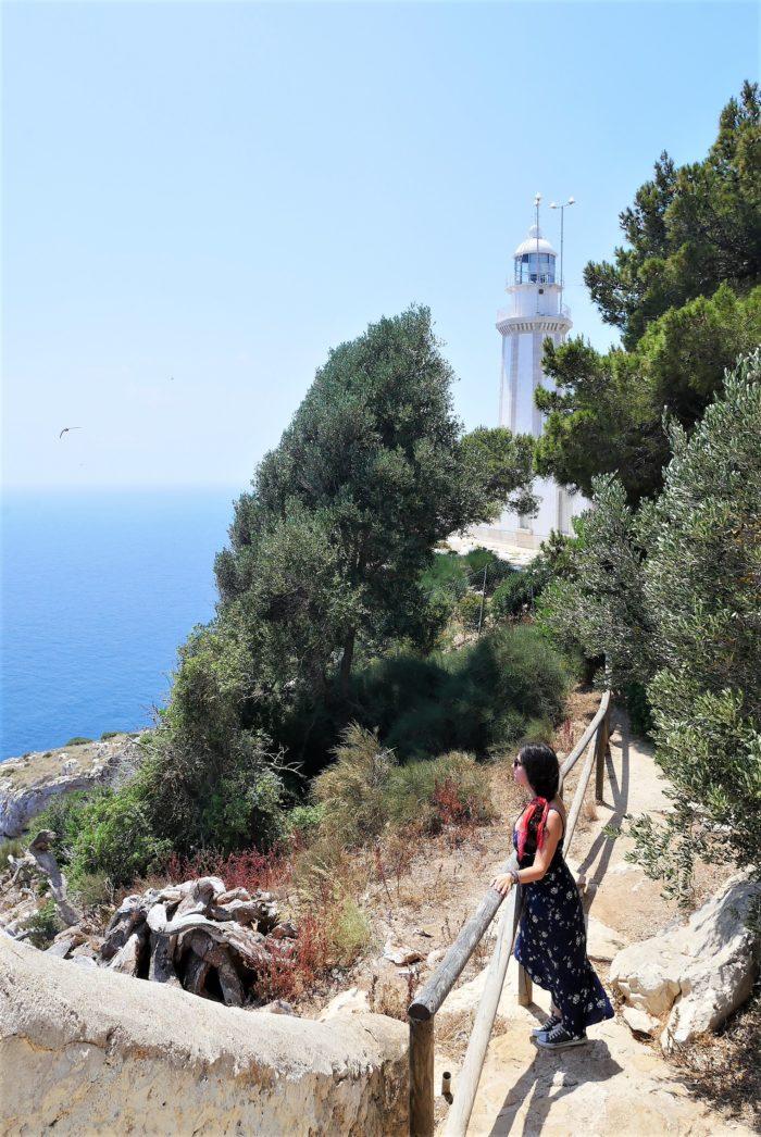 Faro Cabo de la Nao en Alicante