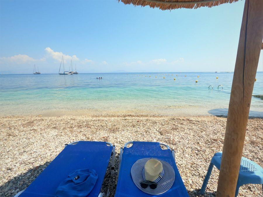 Playas del sur de Corfú