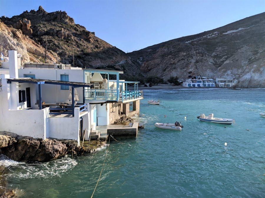 Pueblos marineros en Milos, Grecia