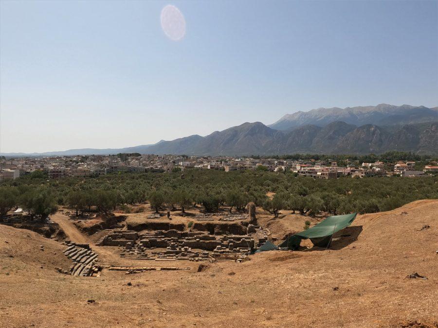Restos de la ciudad de Esparta