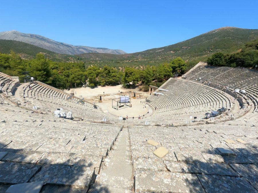 Teatro del Epidauro, qué ver en Grecia