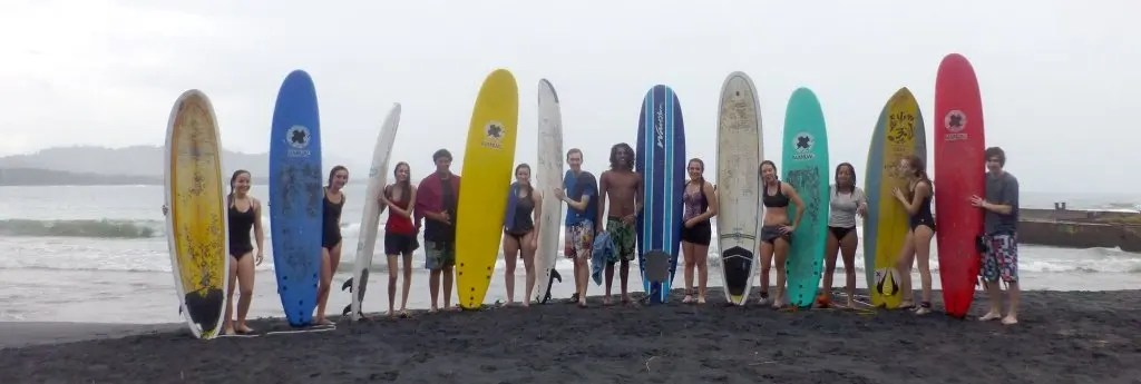 Surf Lessons at La Costa de Papito, Cocles (Puerto Viejo, Costa Rica)