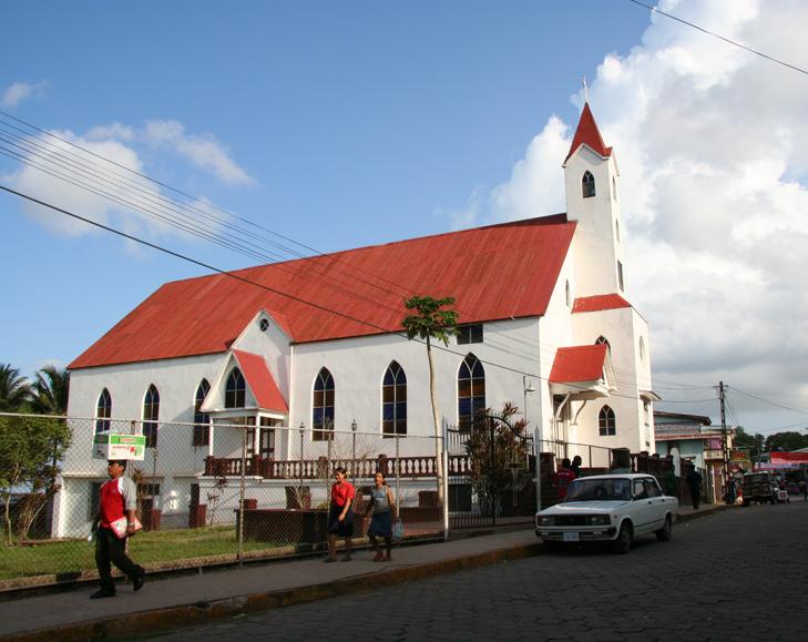 Iglesia Morava de Bluefields
