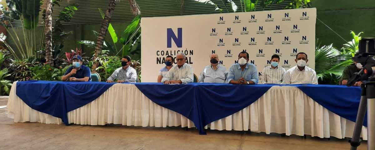 Coalición Nacional se proncunció contra trío de leyes