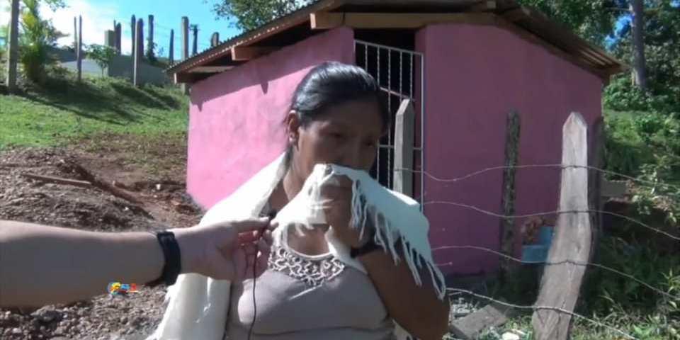 Carmen Rodríguez, mamá de las niñas asesinadas en Mulukukú