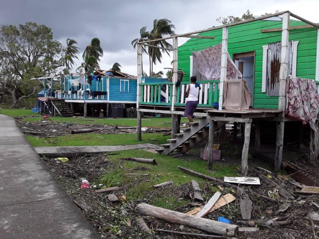 Destrucción tras paso de Eta en Nicaragua