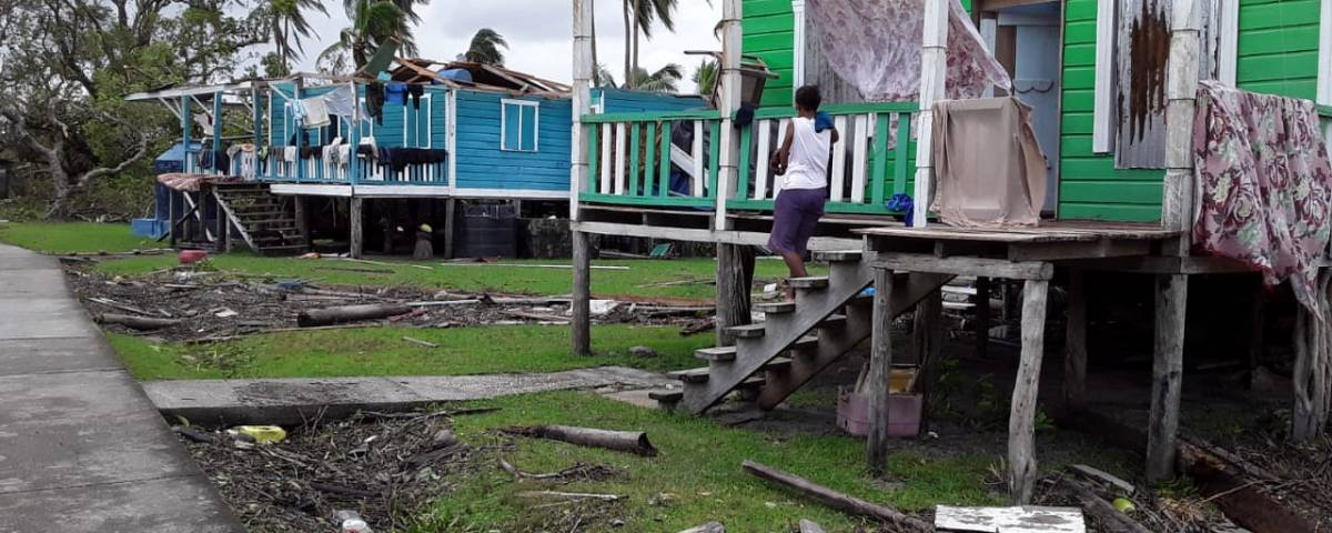 Pérdidas por el huracán Eta