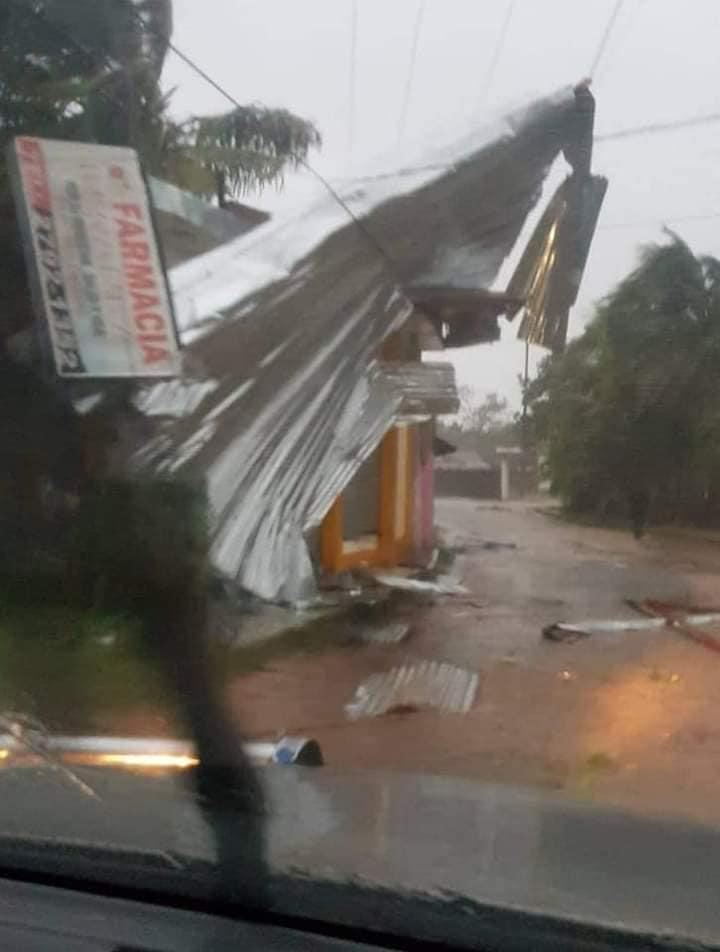 Huracán Eta en Nicaragua. Cortesía