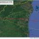 Gráfico de la Fundación del Río que demuestra el impacto en reservas naturales del Caribe por el huracán Iota
