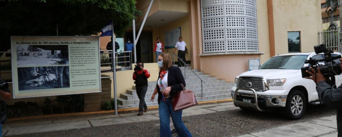 María Fernanda Flores desaforada de la Asamblea Nacional