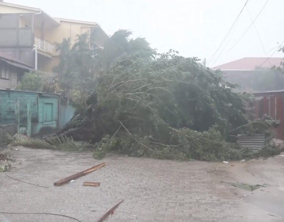 Estragos del Huracán Eta en Nicaragua