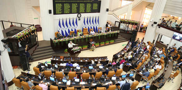 Diputados de la Asamblea Nacional celebraron la sesión solemne de clausura de la XXXVI legislatura. Cortesía
