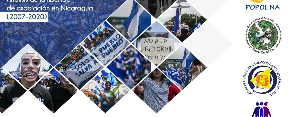 Fundación del Río y Popol Na presentaron el informe Análisis de la libertad de asociación en Nicaragua.