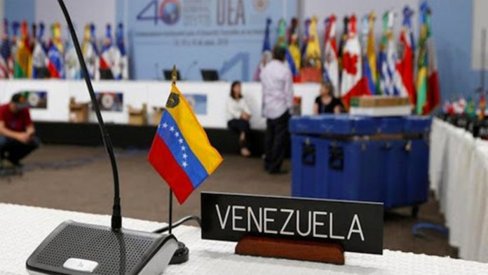 OEA rechaza elecciones parlamentarias en Venezuela
