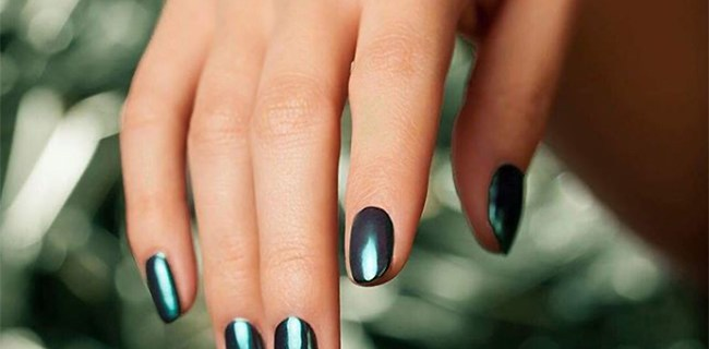 Rich autumn manicure ideas