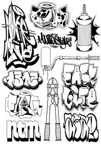 Flash Graff fait par Wan