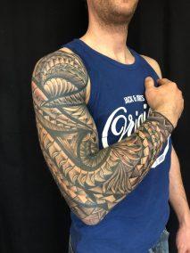 Tattoo samoan fait par Brice