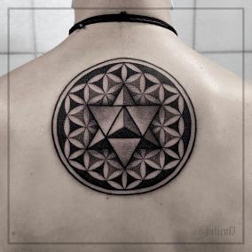 Tattoo Mandala fait par Julien