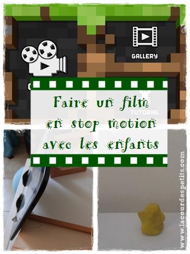 Créer Un Film D Animation : créer, animation, Faire, Motion, Enfants, Petits