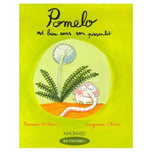 Pomelo est bien sous son pissenlit
