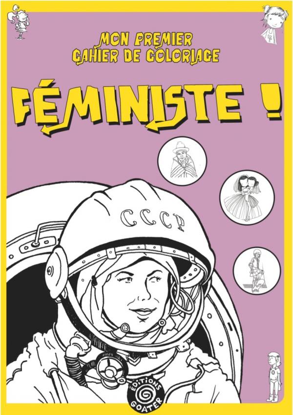 goater, coloriage, féminisme